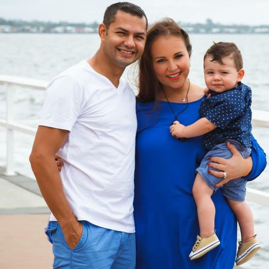 Sanchez Family. Brisbane Mums
