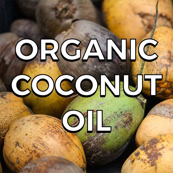 A rich source of  Lauric acid , a medium chain fatty acid that is great for the immune system.  Anti-viral, anti-fungal and anti-bacterial , coconut oil is easy to digest and great for the gut.