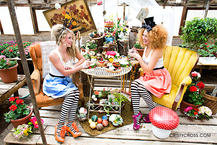 Cristy Cross Photography, Alice In Wonderland themed shoot