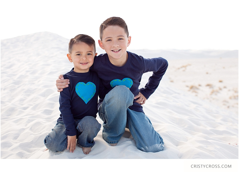 The Hames' White Sand, New Mexico Family Session taken by Clovis Portrait Photographer Cristy Cross__0071.jpg