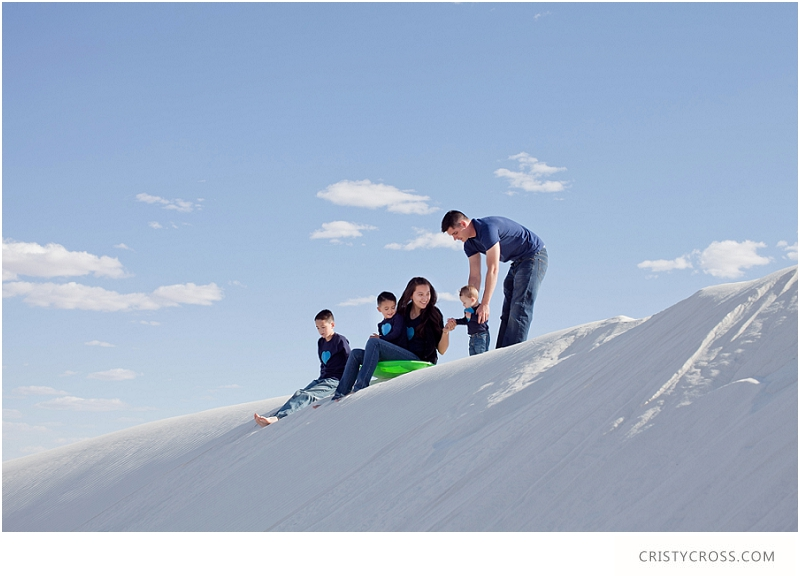 The Hames' White Sand, New Mexico Family Session taken by Clovis Portrait Photographer Cristy Cross__0073.jpg
