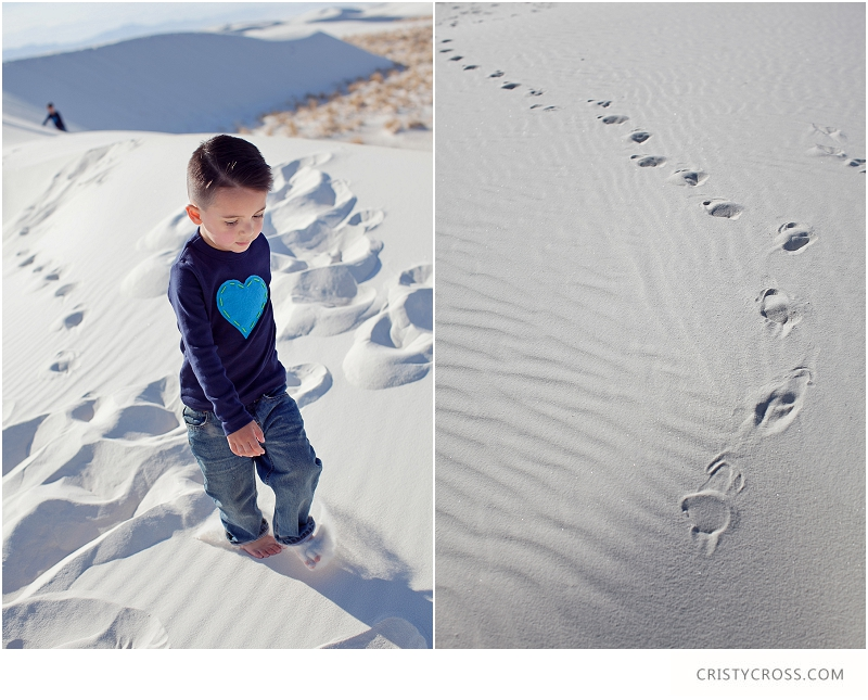 The Hames' White Sand, New Mexico Family Session taken by Clovis Portrait Photographer Cristy Cross__0074.jpg