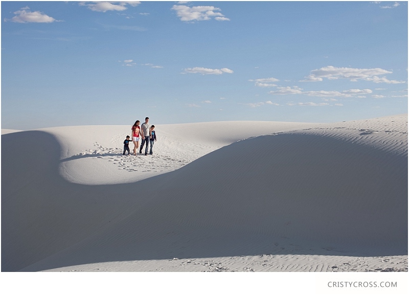 The Hames' White Sand, New Mexico Family Session taken by Clovis Portrait Photographer Cristy Cross__0078.jpg