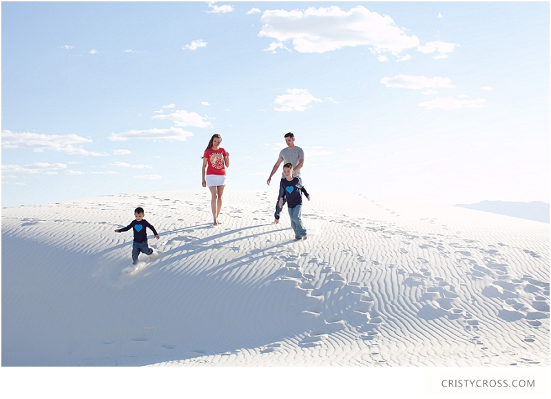 The Hames' White Sand, New Mexico Family Session taken by Clovis Portrait Photographer Cristy Cross__0079.jpg