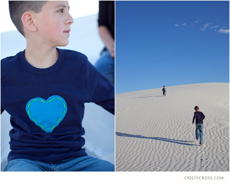 The Hames' White Sand, New Mexico Family Session taken by Clovis Portrait Photographer Cristy Cross__0081.jpg