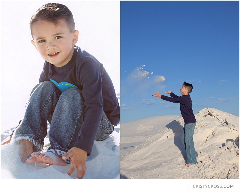 The Hames' White Sand, New Mexico Family Session taken by Clovis Portrait Photographer Cristy Cross__0082.jpg