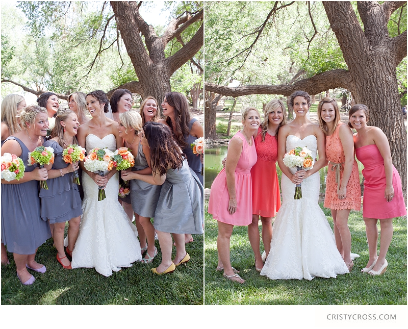 Chris and Amy's Coral and Grey Wedding Ideas taken by Clovis Wedding Photographer Cristy Cross_0004.jpg