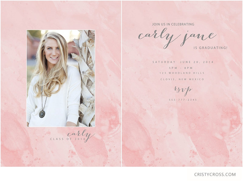 2014 High School Senior Graduation Cards taken by Clovis Portrait Photographer Cristy Cross_0004.jpg