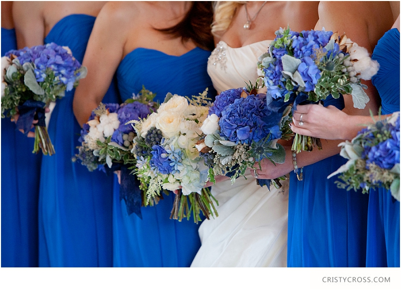 Royal Blue Wedding Ideas — Cristy Cross Photography