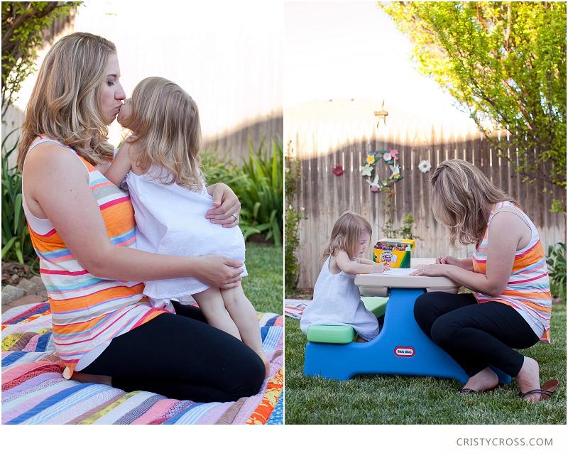 Backyard Mom and Daughter Photo Shoot taken by Clovis Portrait Photographer Cristy Cross_0002.jpg