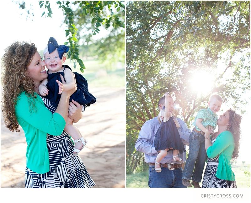 The Carter's Navy and Green Clovis, New Mexico Family Shoot — Cristy