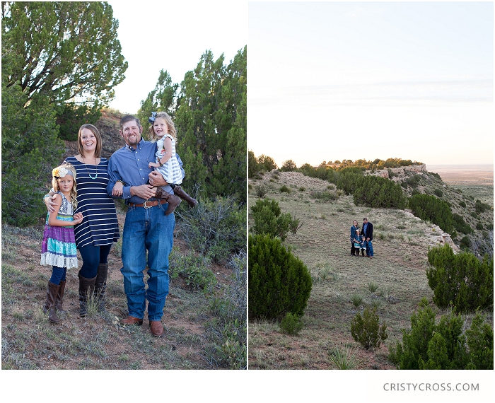 The Landsford's Caprock Canyon, New Mexico Family Session taken by Clovis Portrait Photographer Cristy Cross_0002.jpg
