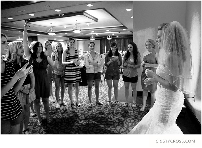 Fist Look for Bride and Bridesmaids taken by Clovis Wedding Photographer Cristy Cross_0005.jpg