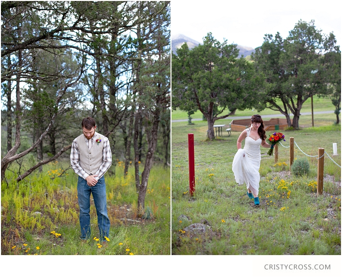 Turquoise and Creme Church Camp New Mexico Mountain Wedding taken by Clovis Wedding Photographer Cristy Cross_0001.jpg