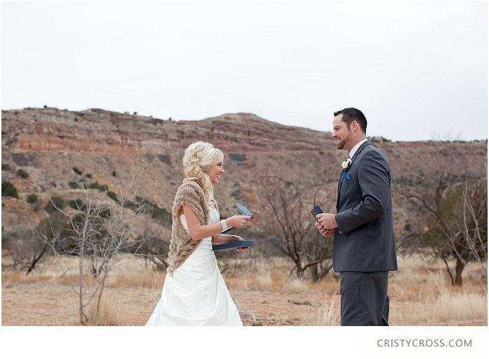 Winter Palo Duro Royal Blue Wedding taken by Clovis Wedding Photographer Cristy Cross_0018.jpg