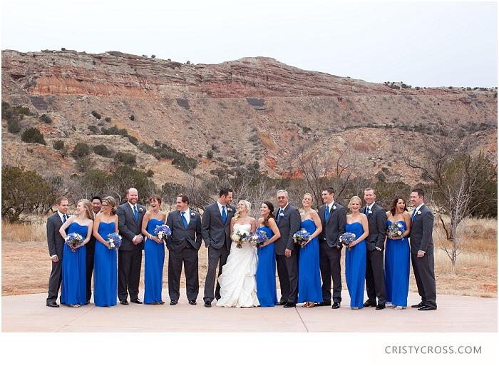 Winter Palo Duro Royal Blue Wedding taken by Clovis Wedding Photographer Cristy Cross_0019.jpg