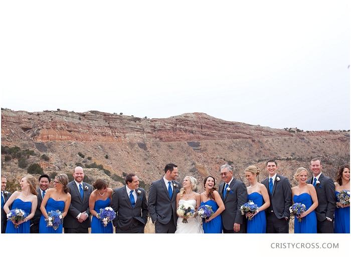 Winter Palo Duro Royal Blue Wedding taken by Clovis Wedding Photographer Cristy Cross_0020.jpg