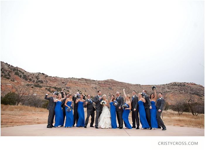 Winter Palo Duro Royal Blue Wedding taken by Clovis Wedding Photographer Cristy Cross_0021.jpg