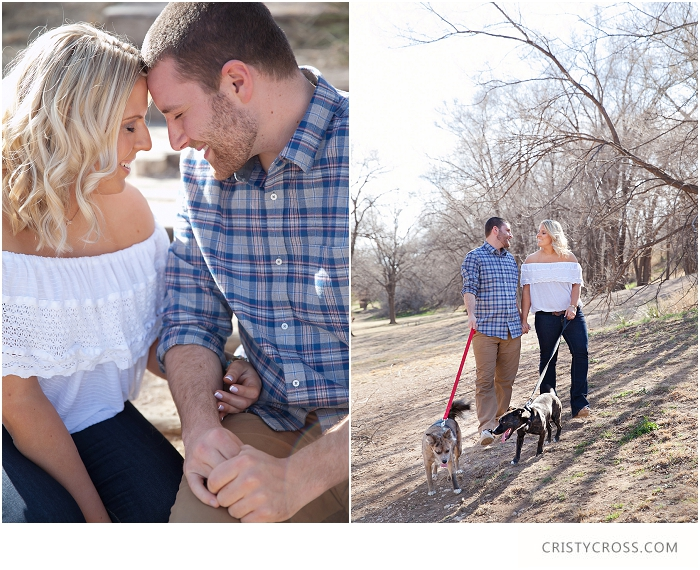 Alex and Matt's Lubbock, Texas Woodsy Engagement Session taken by Clovis Wedding Photographer Cristy Cross_0001.jpg