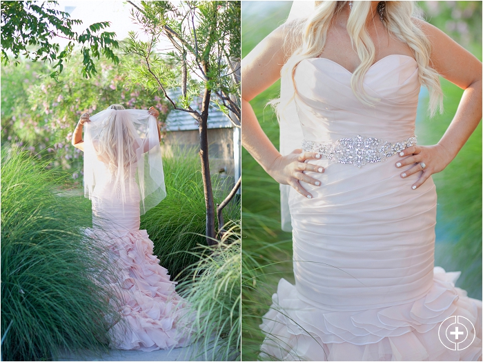 Kaci's Blush Pink Wedding Dress Bridal Session taken by Clovis Wedding Photographer Cristy Cross_0016.jpg