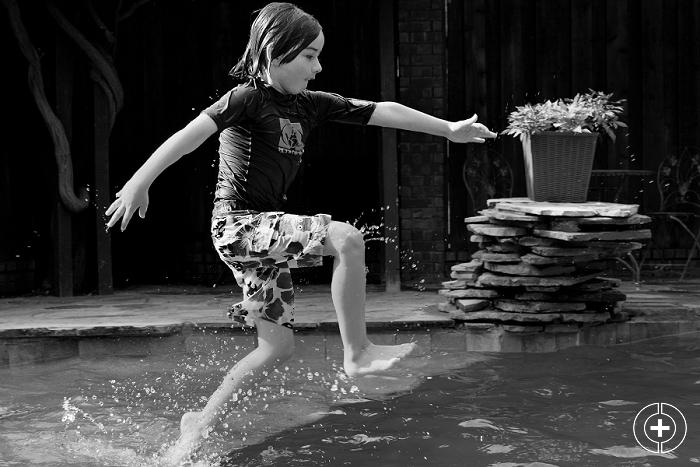 Backyard Pool Party taken by Clovis Portrait Photographer Cristy Cross_0007.jpg