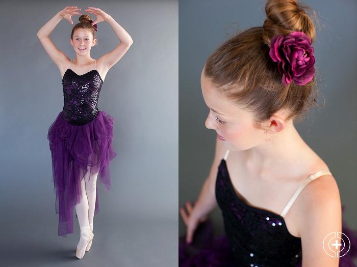 The Schaap Girls Ballet Mini Session taken by Clovis Portrait Photographer Cristy Cross_0006.jpg