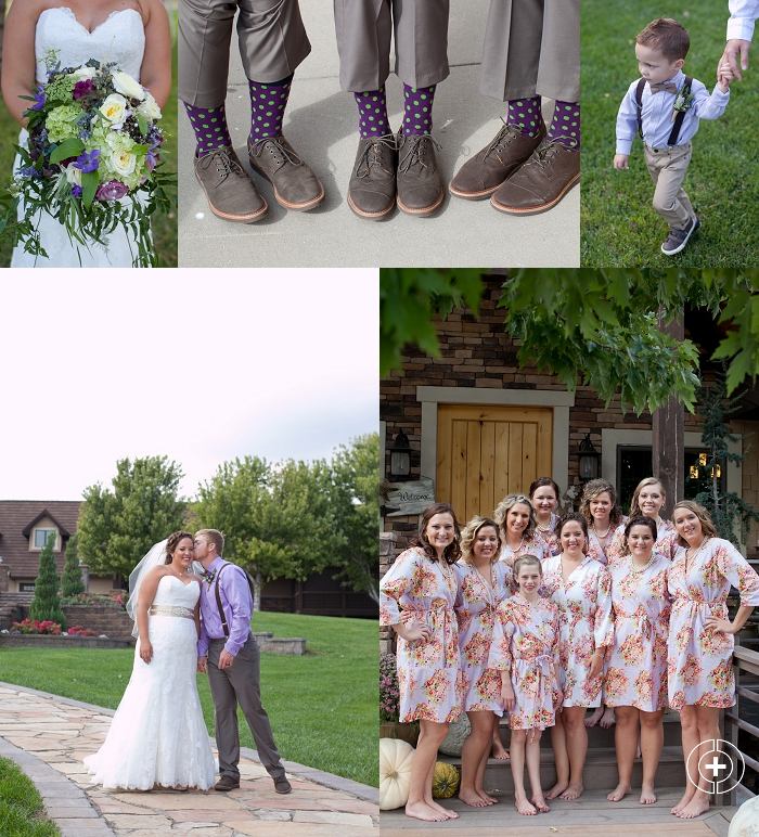 Whitney and Spencer's Lavender and Green Kansas Wedding taken by Clovis Wedding Photographer Cristy Cross_0009.jpg
