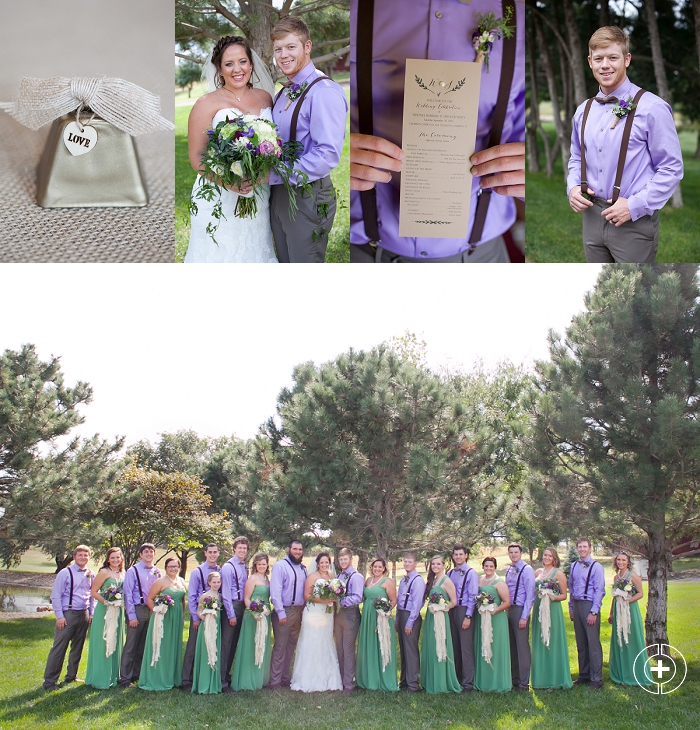 Whitney and Spencer's Lavender and Green Kansas Wedding taken by Clovis Wedding Photographer Cristy Cross_0010.jpg