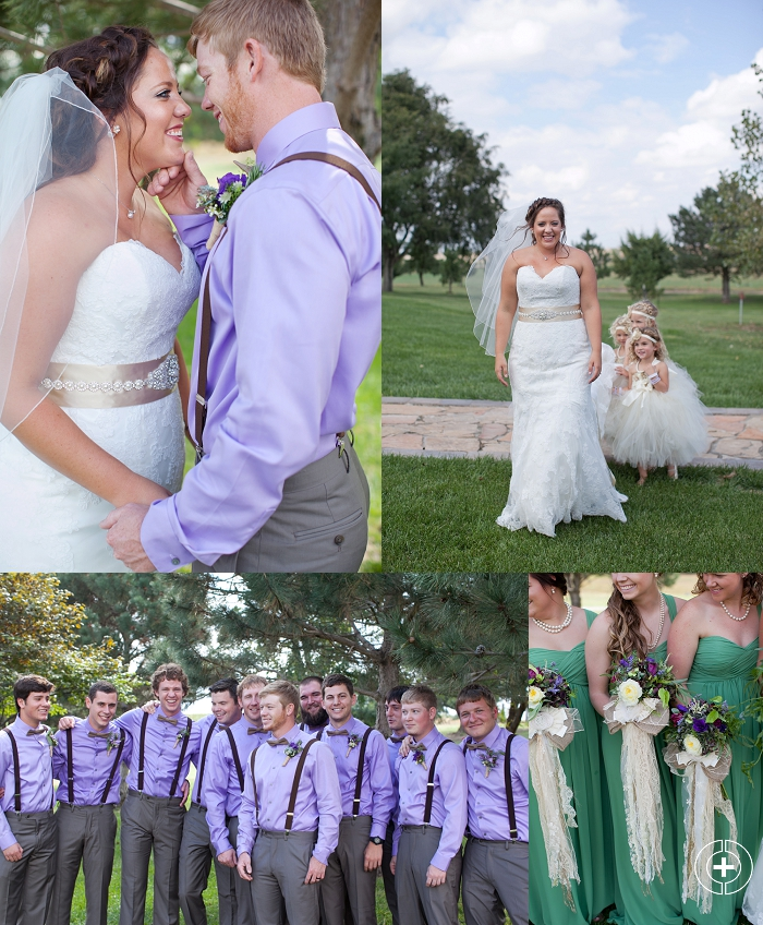 Whitney and Spencer's Lavender and Green Kansas Wedding taken by Clovis Wedding Photographer Cristy Cross_0012.jpg