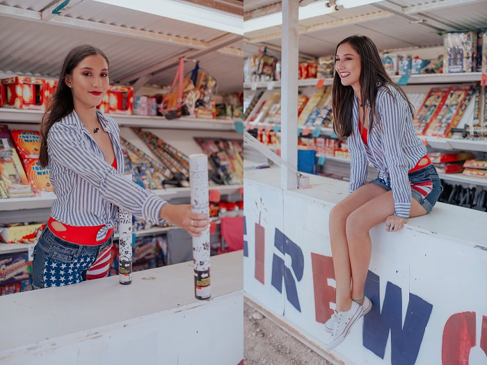 America and Watermelon 4th of July Styled Photo Shoot  by New Mexico Lifestyle Photographer Cristy Cross_0002.jpg