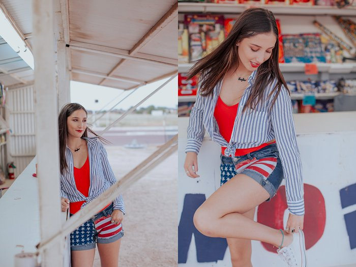 America and Watermelon 4th of July Styled Photo Shoot  by New Mexico Lifestyle Photographer Cristy Cross_0003.jpg