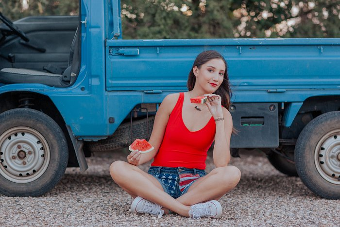 America and Watermelon 4th of July Styled Photo Shoot  by New Mexico Lifestyle Photographer Cristy Cross_0011.jpg