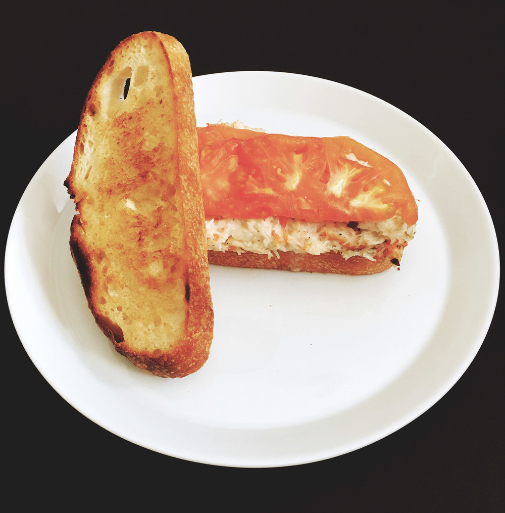 Sourdough Crab Sandwich