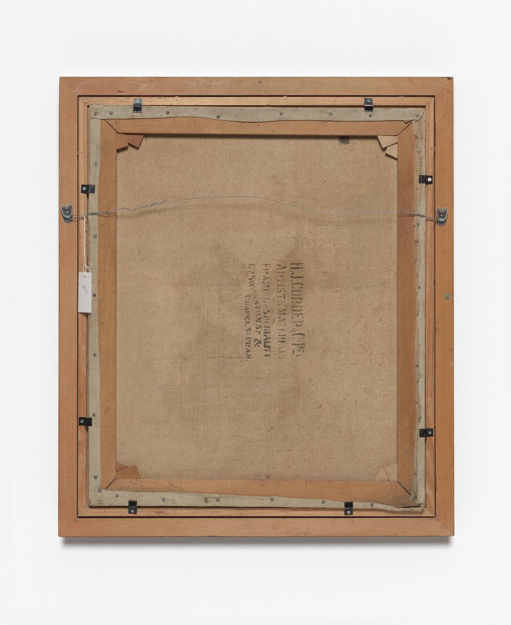 Back of Bale's Self Portrait, Siri Hayes, 2017, Inkjet on cotton rag art paper, 98 x 118cm