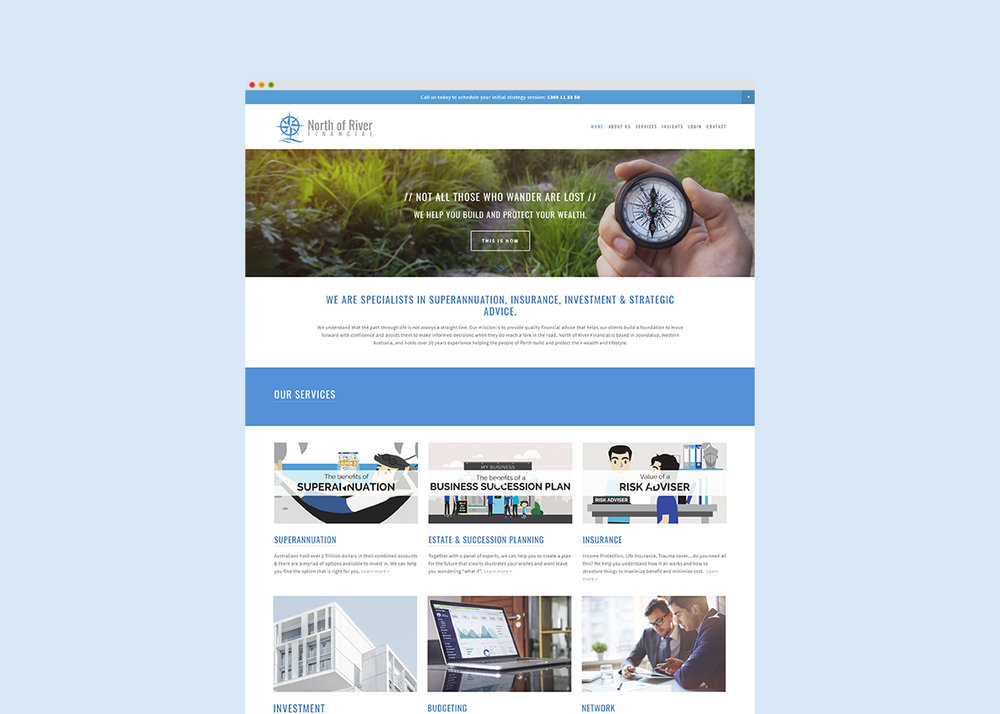 Financial Planner Website Design & Branding
