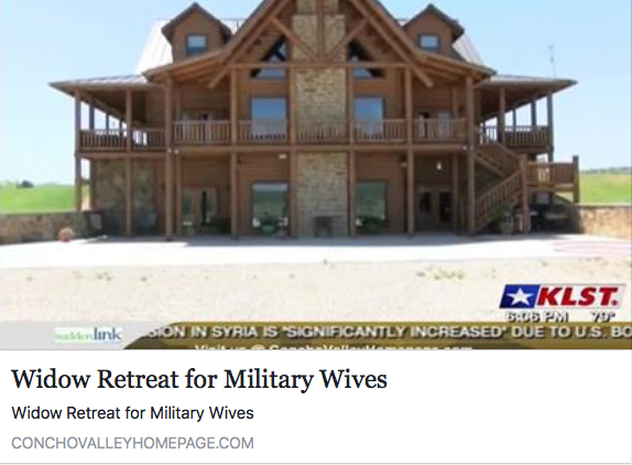Watch the KLST segment about Jennifer Thorp and her vision for the Oaks of Life Retreat. -