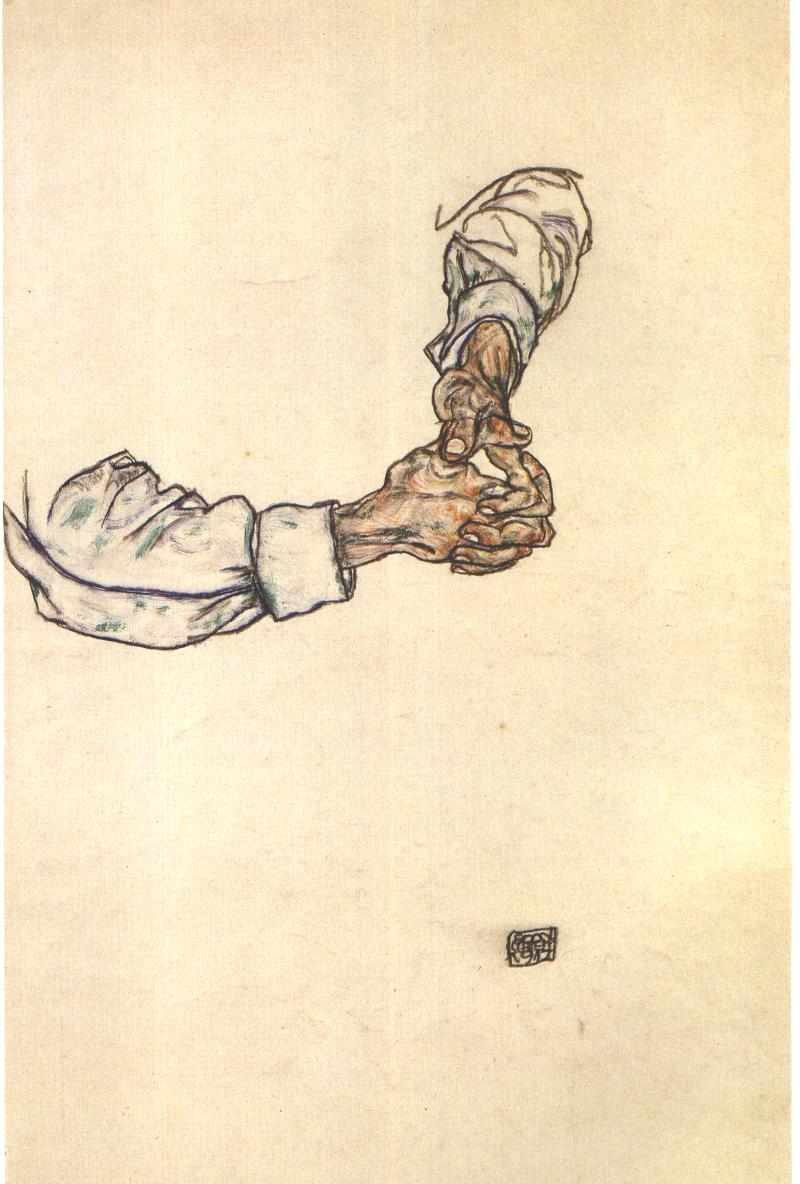 schiele, study of hands.jpg