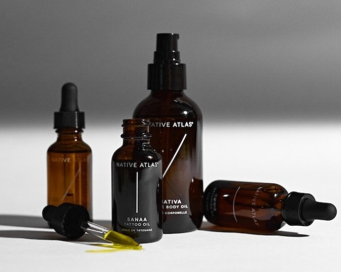 Sativa Luxurious Body Oil - NATIVE ATLASBeen using Native Atlas oils for awhile now. Skin feels gorg + smell like a dream.CHECK IT OUT
