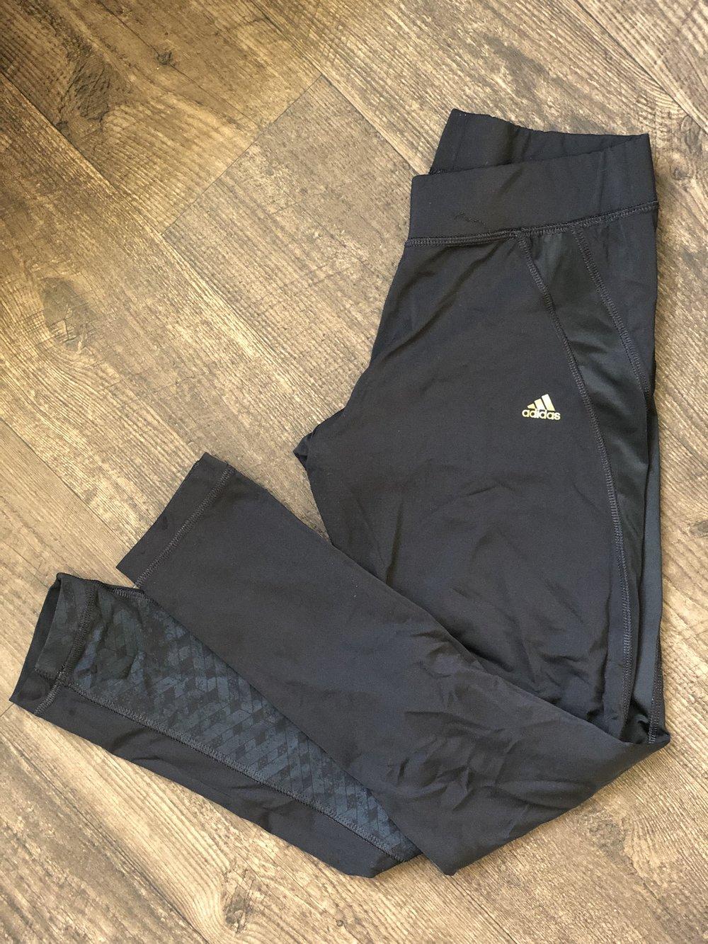 Adidas Running Tight mid rise // $30