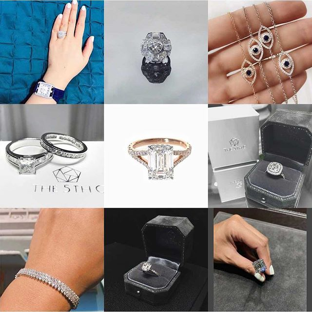 Thank you for all your support in 2017. We look forward to creating even more memorable pieces in 2018! 💎💎💎💎 #bestnine2017 #diamonds #bespokejewelry #the5thc