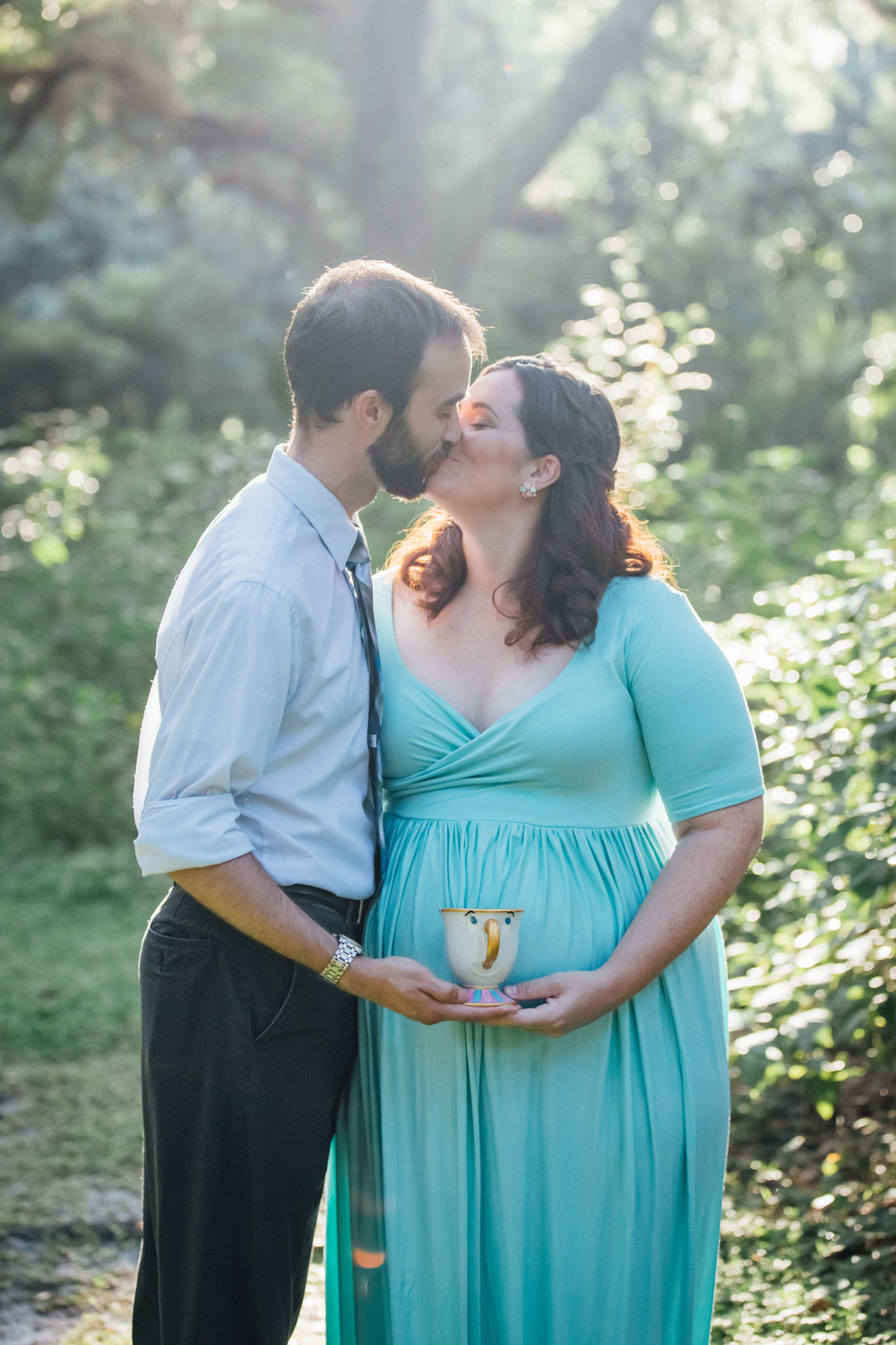 Disney maternity photos