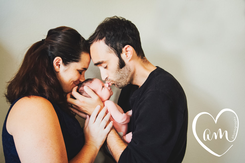 Orlando newborn photography. Photo by Amanda Mejias Photography.