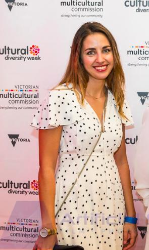 Filmmaker Natalia Chernaya, Director of Outcasting and winner of Encouragement Award at the VMC Film Festival