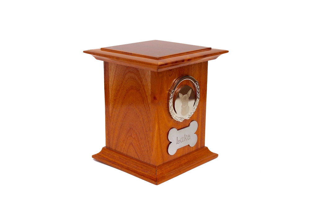 Urna de madera personalizada - Animal Rest