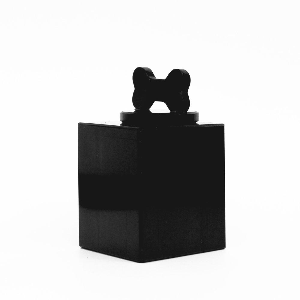 Urna de marmol negro - Animal Rest