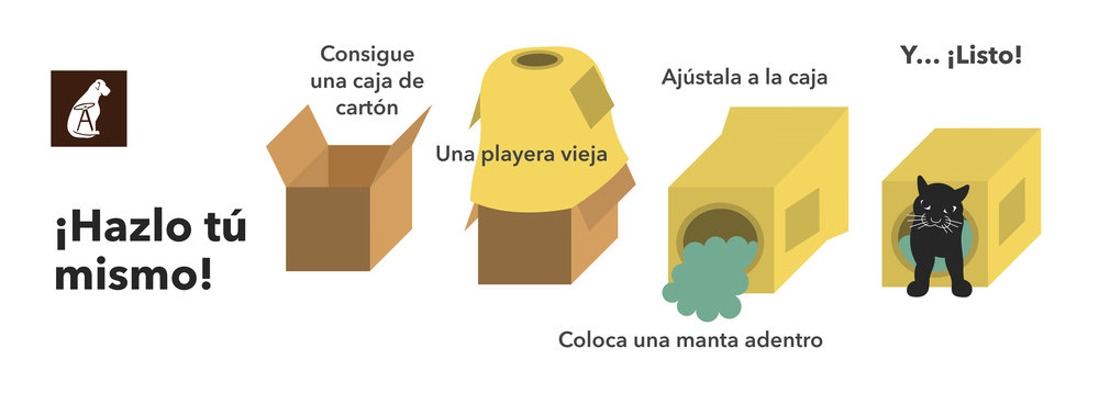 Como hacer una casita con materiales reciclables
