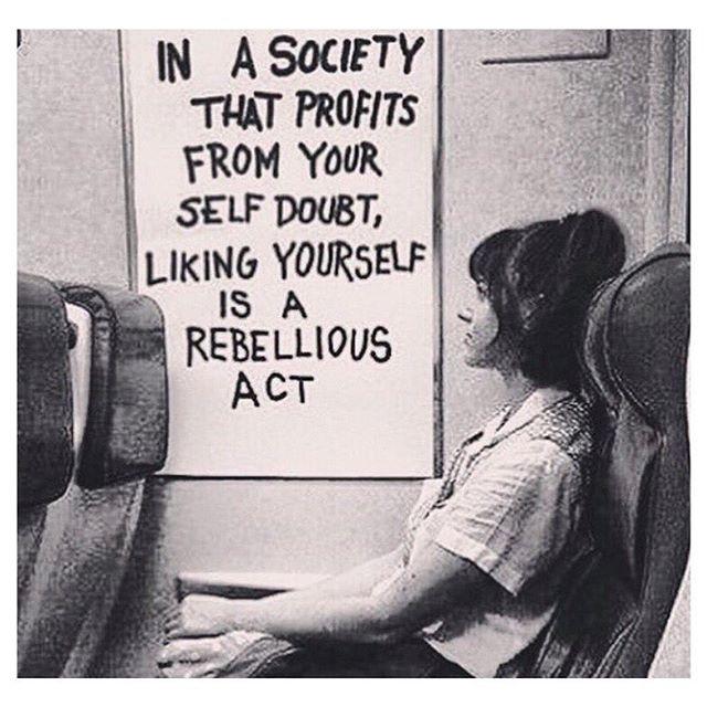 Be a rebel 💪🏻💭💗