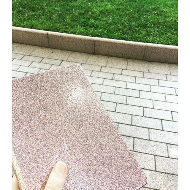 Some journal times call for green grass + sparkles 😍💗💭
