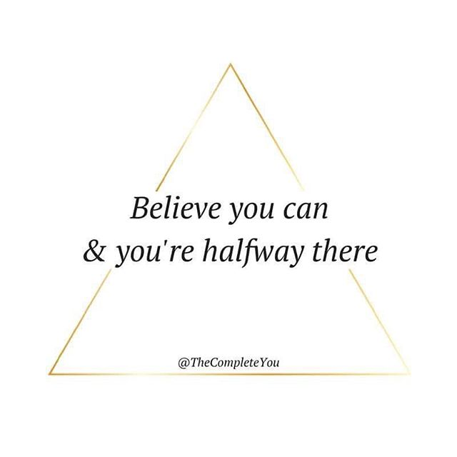 The how is easy... The why + belief is hard 💗💭
