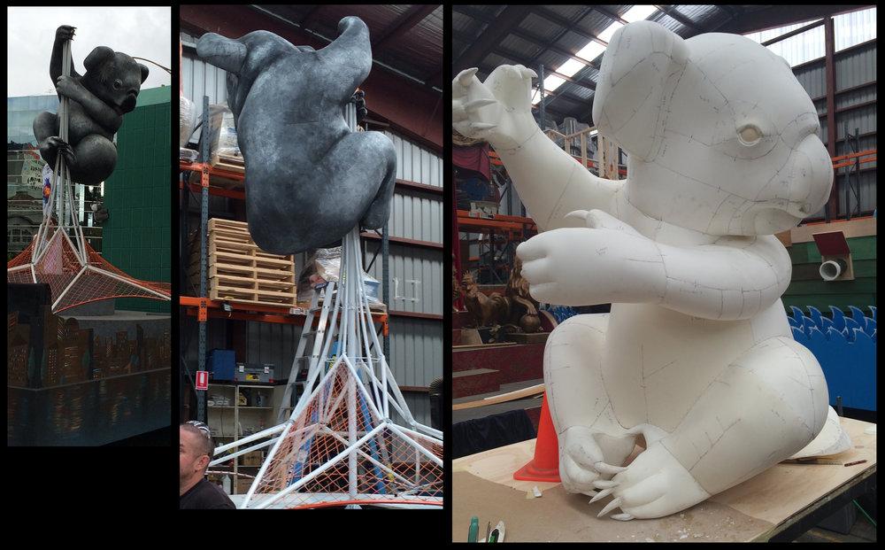 Koala Kong float